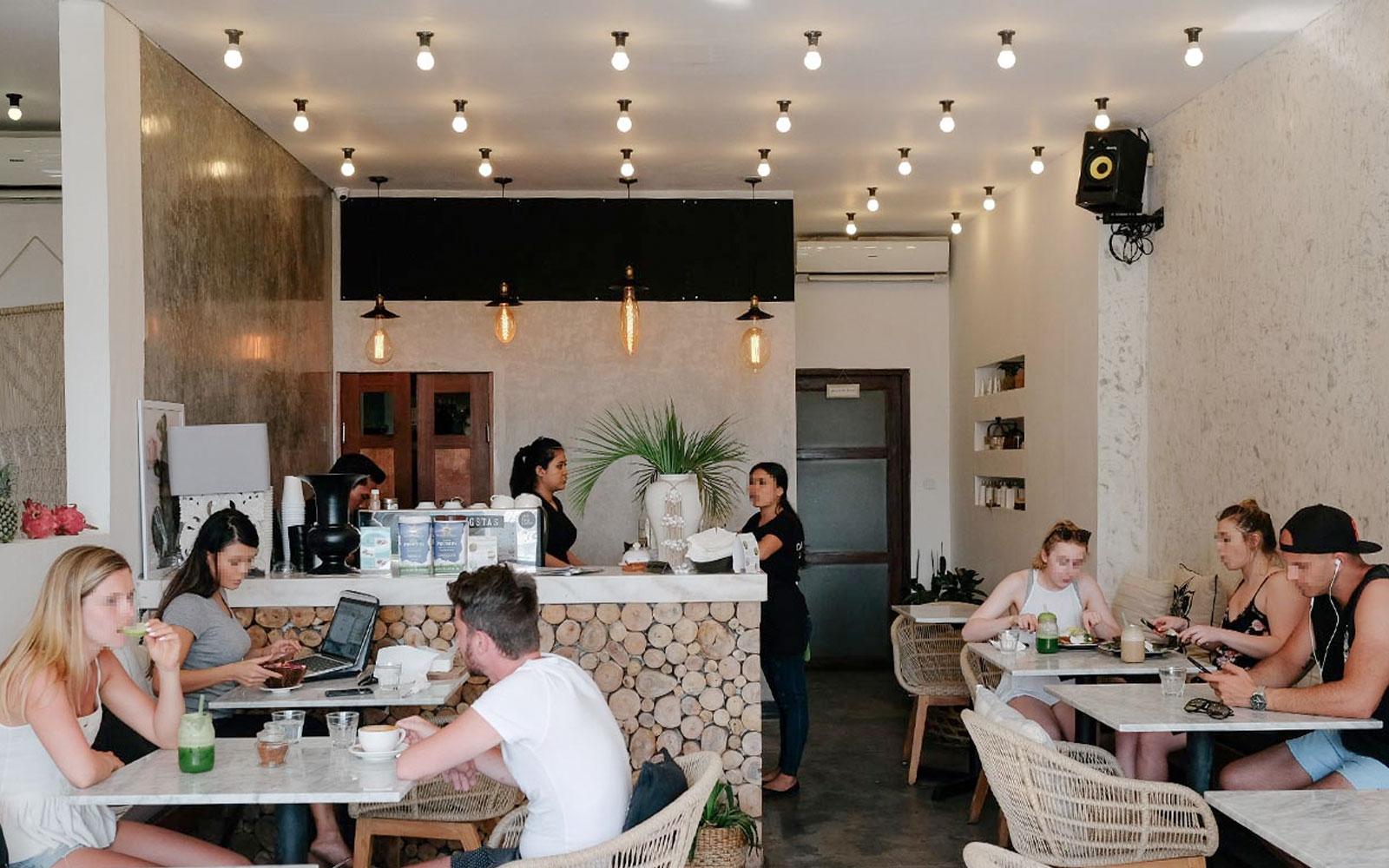 Cafe Bali Menu